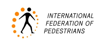 Logo International Federation of Pedestrians